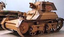 Surviving WW2 Vickers Light Tank MkIIA