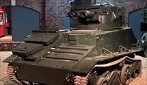 Surviving WW2 Vickers Light Tank MkVI at Duxford
