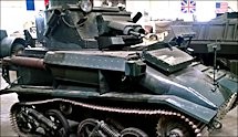 Surviving WW2 Vickers Light Tank MkVI