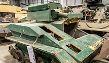 Surviving WW2 Vickers Light Tank MkIV