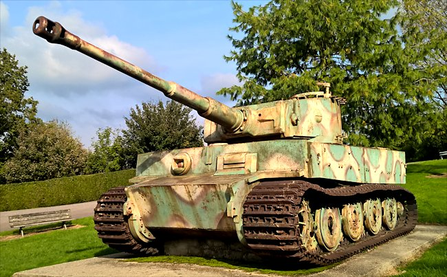 Surviving Vimoutiers Tank was heading to the Normandy beaches during D-Day