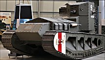 Surviving WW1 British Whippet Mark A tank